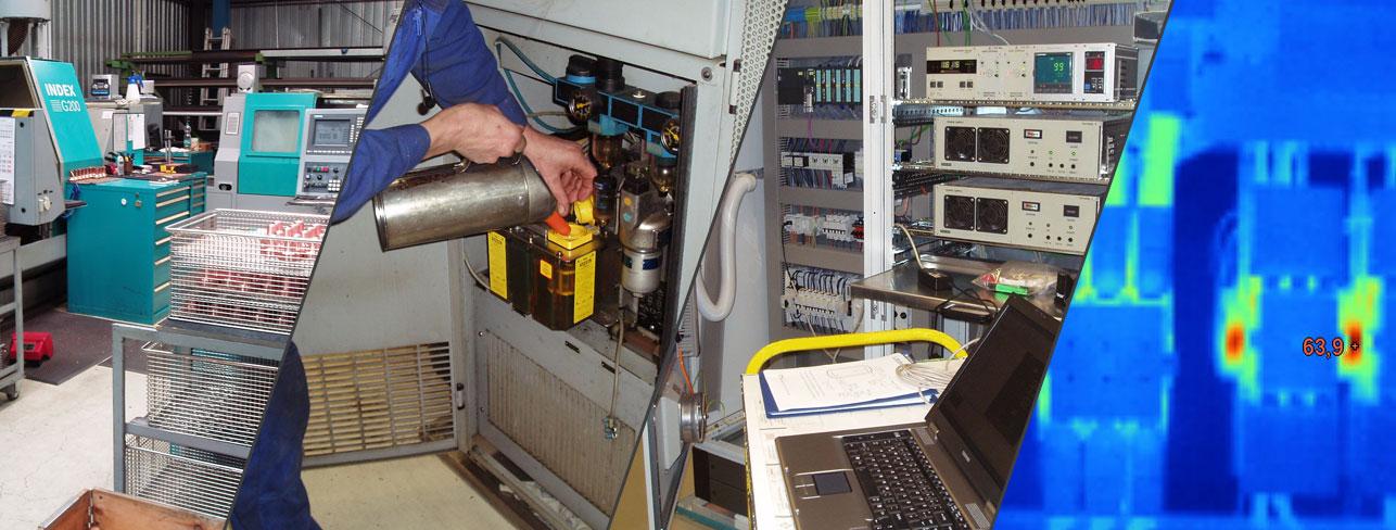 Instandsetzung industrieller Fertigungseinrichtungen - Indu-Teck Berlin